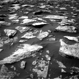Nasa's Mars rover Curiosity acquired this image using its Right Navigation Camera on Sol 1589, at drive 2046, site number 60