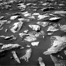 Nasa's Mars rover Curiosity acquired this image using its Right Navigation Camera on Sol 1589, at drive 2058, site number 60