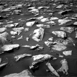 Nasa's Mars rover Curiosity acquired this image using its Right Navigation Camera on Sol 1589, at drive 2064, site number 60