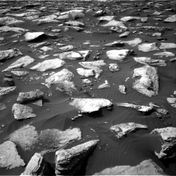 Nasa's Mars rover Curiosity acquired this image using its Right Navigation Camera on Sol 1589, at drive 2076, site number 60