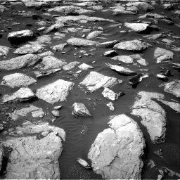 Nasa's Mars rover Curiosity acquired this image using its Right Navigation Camera on Sol 1589, at drive 2094, site number 60
