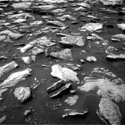Nasa's Mars rover Curiosity acquired this image using its Right Navigation Camera on Sol 1589, at drive 2118, site number 60