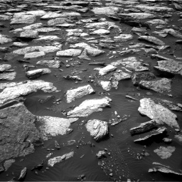 Nasa's Mars rover Curiosity acquired this image using its Right Navigation Camera on Sol 1589, at drive 2124, site number 60