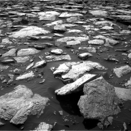 Nasa's Mars rover Curiosity acquired this image using its Right Navigation Camera on Sol 1589, at drive 2136, site number 60