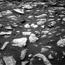 Nasa's Mars rover Curiosity acquired this image using its Right Navigation Camera on Sol 1589, at drive 2184, site number 60