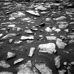 Nasa's Mars rover Curiosity acquired this image using its Right Navigation Camera on Sol 1589, at drive 2190, site number 60