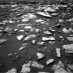 Nasa's Mars rover Curiosity acquired this image using its Right Navigation Camera on Sol 1589, at drive 2196, site number 60