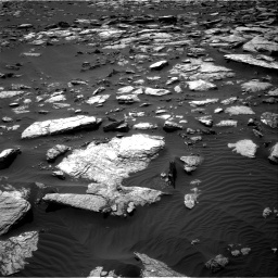 Nasa's Mars rover Curiosity acquired this image using its Right Navigation Camera on Sol 1589, at drive 2208, site number 60