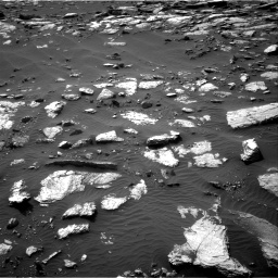 Nasa's Mars rover Curiosity acquired this image using its Right Navigation Camera on Sol 1589, at drive 2232, site number 60