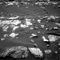 Nasa's Mars rover Curiosity acquired this image using its Right Navigation Camera on Sol 1589, at drive 2244, site number 60