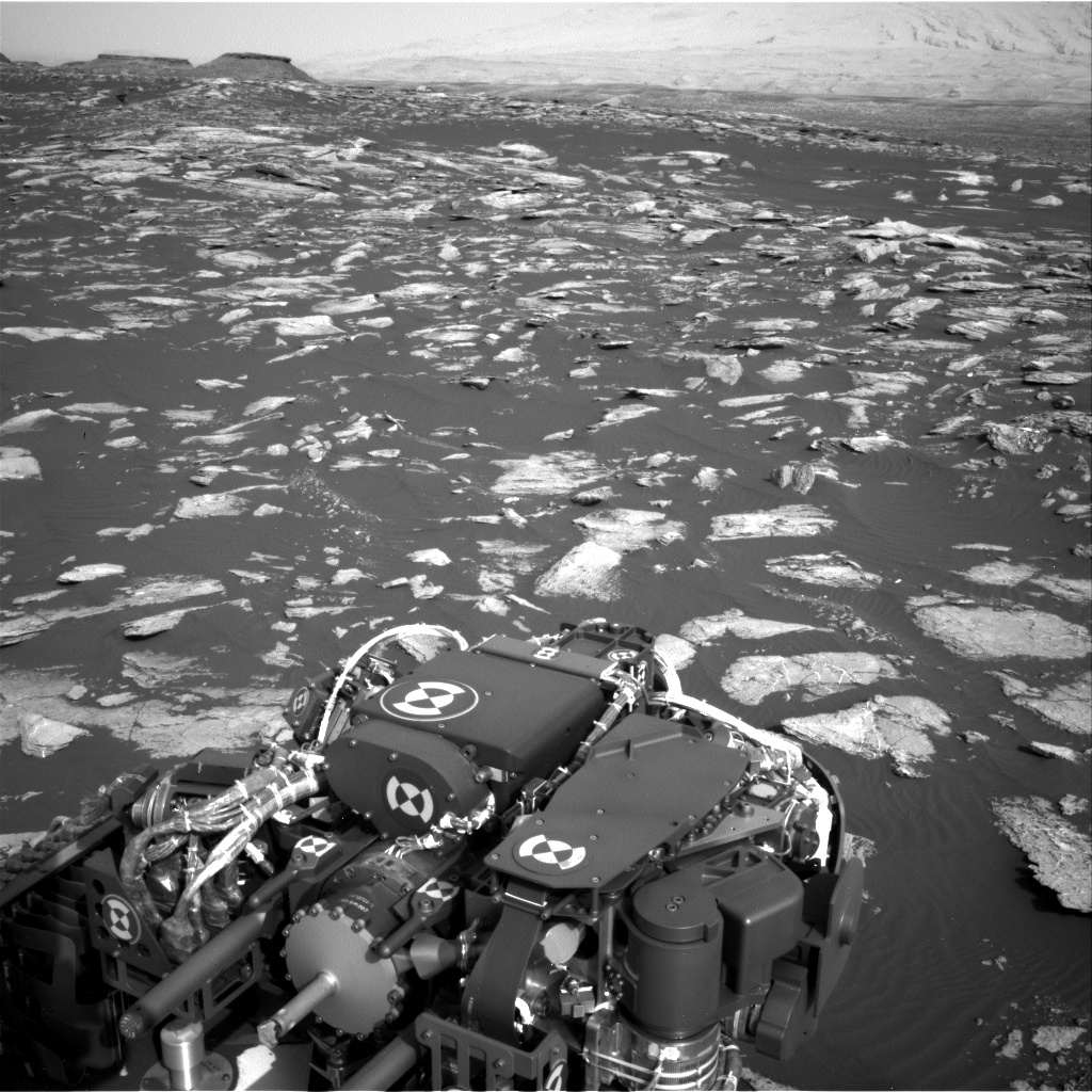 Nasa's Mars rover Curiosity acquired this image using its Right Navigation Camera on Sol 1589, at drive 2256, site number 60