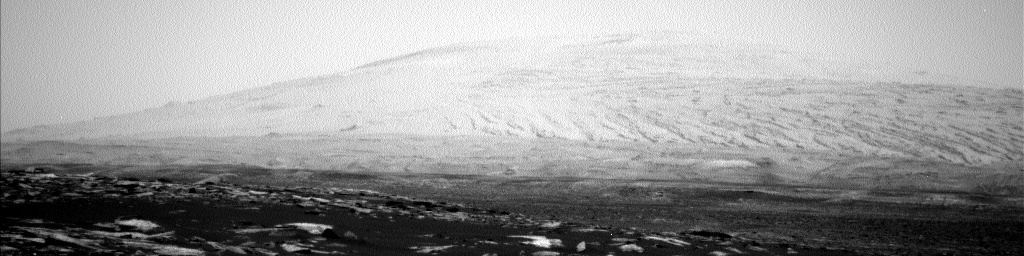 Nasa's Mars rover Curiosity acquired this image using its Left Navigation Camera on Sol 1590, at drive 2256, site number 60