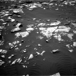 Nasa's Mars rover Curiosity acquired this image using its Left Navigation Camera on Sol 1591, at drive 2274, site number 60
