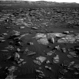 Nasa's Mars rover Curiosity acquired this image using its Left Navigation Camera on Sol 1591, at drive 2316, site number 60