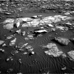 Nasa's Mars rover Curiosity acquired this image using its Left Navigation Camera on Sol 1591, at drive 2322, site number 60