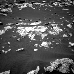Nasa's Mars rover Curiosity acquired this image using its Right Navigation Camera on Sol 1591, at drive 2256, site number 60