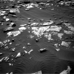 Nasa's Mars rover Curiosity acquired this image using its Right Navigation Camera on Sol 1591, at drive 2274, site number 60