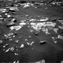 Nasa's Mars rover Curiosity acquired this image using its Right Navigation Camera on Sol 1591, at drive 2280, site number 60