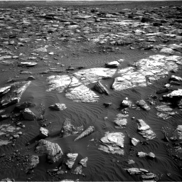Nasa's Mars rover Curiosity acquired this image using its Right Navigation Camera on Sol 1591, at drive 2298, site number 60