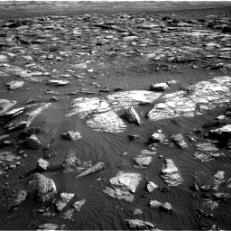 Nasa's Mars rover Curiosity acquired this image using its Right Navigation Camera on Sol 1591, at drive 2304, site number 60
