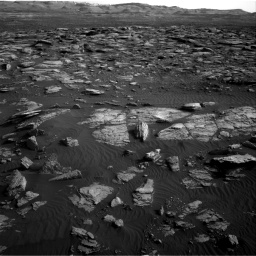 Nasa's Mars rover Curiosity acquired this image using its Right Navigation Camera on Sol 1591, at drive 2310, site number 60