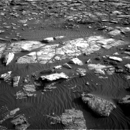 Nasa's Mars rover Curiosity acquired this image using its Right Navigation Camera on Sol 1591, at drive 2328, site number 60