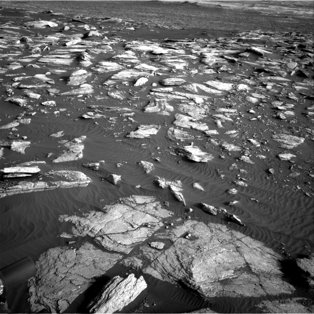 Nasa's Mars rover Curiosity acquired this image using its Right Navigation Camera on Sol 1591, at drive 2346, site number 60