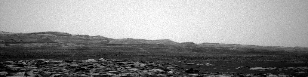Nasa's Mars rover Curiosity acquired this image using its Left Navigation Camera on Sol 1592, at drive 2346, site number 60