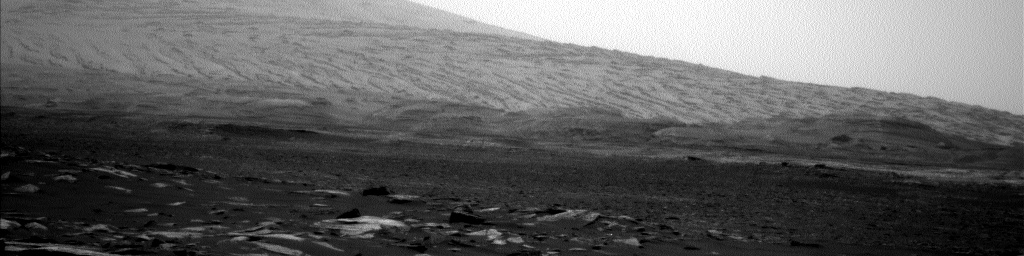 Nasa's Mars rover Curiosity acquired this image using its Left Navigation Camera on Sol 1594, at drive 2346, site number 60