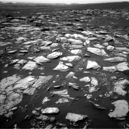 Nasa's Mars rover Curiosity acquired this image using its Left Navigation Camera on Sol 1594, at drive 2364, site number 60