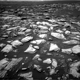 Nasa's Mars rover Curiosity acquired this image using its Left Navigation Camera on Sol 1594, at drive 2370, site number 60