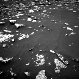 Nasa's Mars rover Curiosity acquired this image using its Left Navigation Camera on Sol 1594, at drive 2442, site number 60
