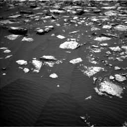 Nasa's Mars rover Curiosity acquired this image using its Left Navigation Camera on Sol 1594, at drive 2502, site number 60