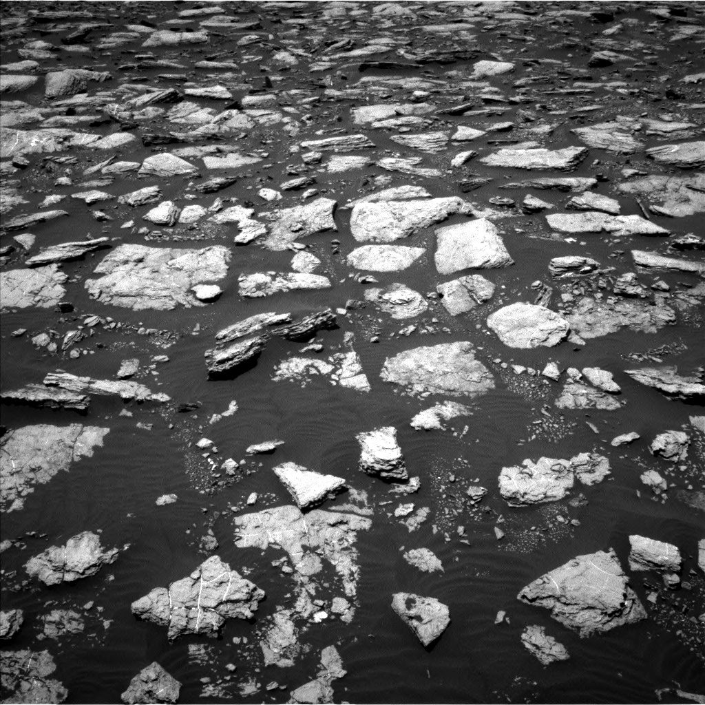 Nasa's Mars rover Curiosity acquired this image using its Left Navigation Camera on Sol 1594, at drive 2526, site number 60