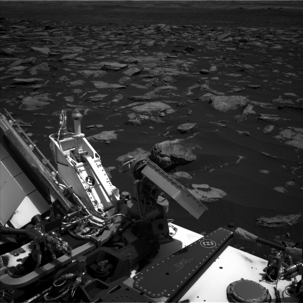 Nasa's Mars rover Curiosity acquired this image using its Left Navigation Camera on Sol 1594, at drive 2574, site number 60