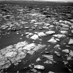 Nasa's Mars rover Curiosity acquired this image using its Right Navigation Camera on Sol 1594, at drive 2358, site number 60