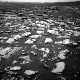 Nasa's Mars rover Curiosity acquired this image using its Right Navigation Camera on Sol 1594, at drive 2364, site number 60