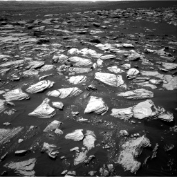 Nasa's Mars rover Curiosity acquired this image using its Right Navigation Camera on Sol 1594, at drive 2370, site number 60
