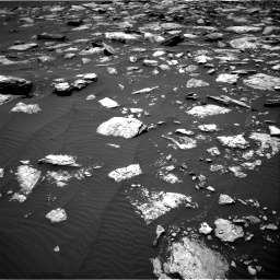 Nasa's Mars rover Curiosity acquired this image using its Right Navigation Camera on Sol 1594, at drive 2508, site number 60