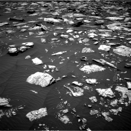 Nasa's Mars rover Curiosity acquired this image using its Right Navigation Camera on Sol 1594, at drive 2514, site number 60