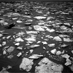 Nasa's Mars rover Curiosity acquired this image using its Right Navigation Camera on Sol 1594, at drive 2550, site number 60