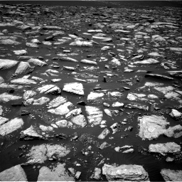 Nasa's Mars rover Curiosity acquired this image using its Right Navigation Camera on Sol 1594, at drive 2568, site number 60