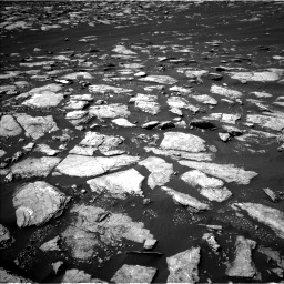 Nasa's Mars rover Curiosity acquired this image using its Left Navigation Camera on Sol 1596, at drive 2574, site number 60