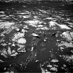 Nasa's Mars rover Curiosity acquired this image using its Right Navigation Camera on Sol 1596, at drive 2610, site number 60