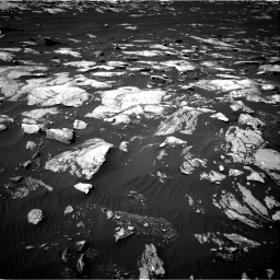Nasa's Mars rover Curiosity acquired this image using its Right Navigation Camera on Sol 1596, at drive 2622, site number 60