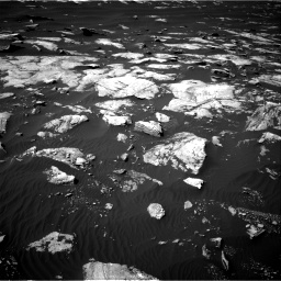 Nasa's Mars rover Curiosity acquired this image using its Right Navigation Camera on Sol 1596, at drive 2628, site number 60