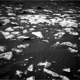 Nasa's Mars rover Curiosity acquired this image using its Right Navigation Camera on Sol 1596, at drive 2640, site number 60
