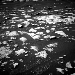 Nasa's Mars rover Curiosity acquired this image using its Right Navigation Camera on Sol 1596, at drive 2646, site number 60