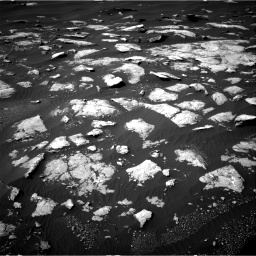 Nasa's Mars rover Curiosity acquired this image using its Right Navigation Camera on Sol 1596, at drive 2652, site number 60