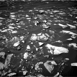 Nasa's Mars rover Curiosity acquired this image using its Right Navigation Camera on Sol 1596, at drive 2682, site number 60